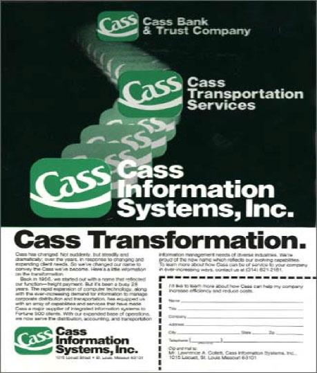 Cass Information Systems brochure