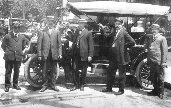 Founders of Cass Avenue Bank - group of St. Louis businessmen